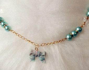 Necklace Choker, lolita lolita, mono