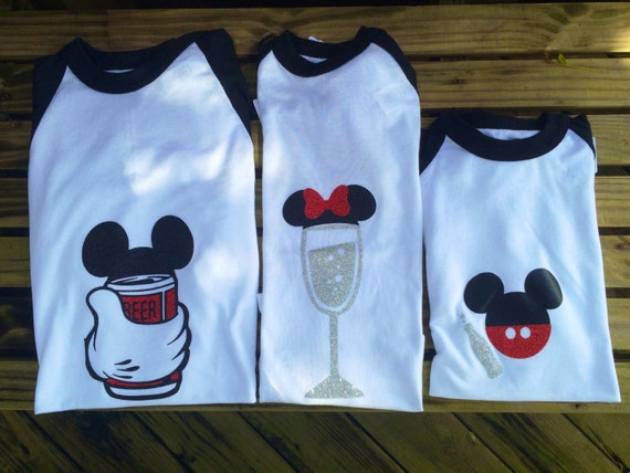 Food And Wine Family Disney Shirts Beer By ProjectBoothDesigns