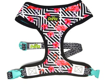 Reversible Breathable Dog Harness by Printz Pet Supply- Mingo