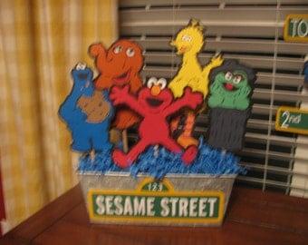Sesame Street Character Centerpiece