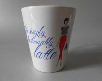 Fashionably Latte - Latte Mug