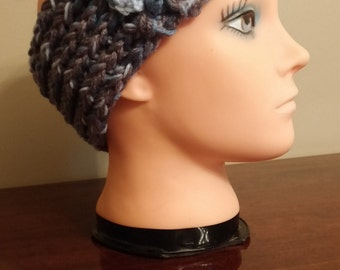 Gray headband/earwarmer