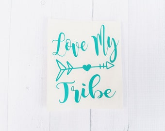 Love my tribe decal | blessed momma decal | Mom decal | vinyl decal | Country mom | coffee cup decal | car decal | iPhone decal | Yeti decal