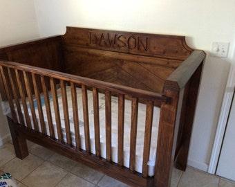Custom Built Crib