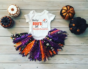 Baby Girl's First Halloween Tutu