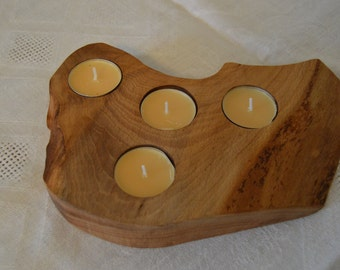 Real wood Tealight Holder