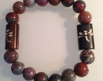 Natural bars and beads