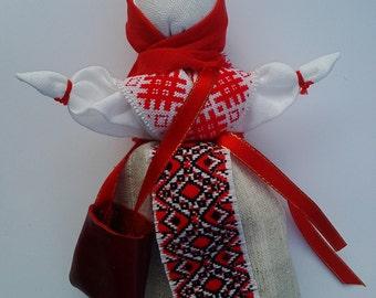 Doll amulet Uspeshnitsa souvenir and gift for everyone Кукла оберег Успешница