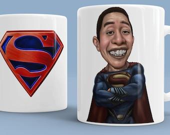 Superman Gift Ideas Art Personalized Mug