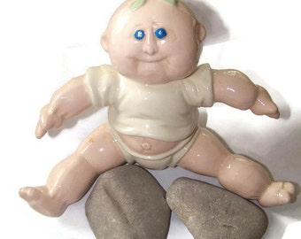 Vintage Ceramic Hershey Molds Baby Statue Figurine Collectible Gift for the Collector