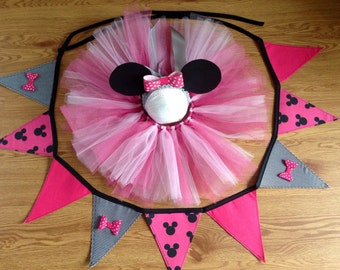 Custom made to order tutu and headband sets
