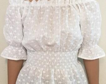 Off Shoulder Blouse for Teenage Girl