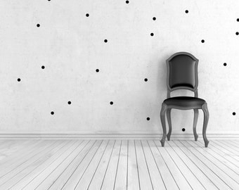 Choice of colors - wall decals - dots - 144er set