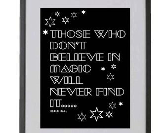 MAGIC inspirational quote