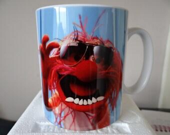 Personalised Animal Muppets Mug