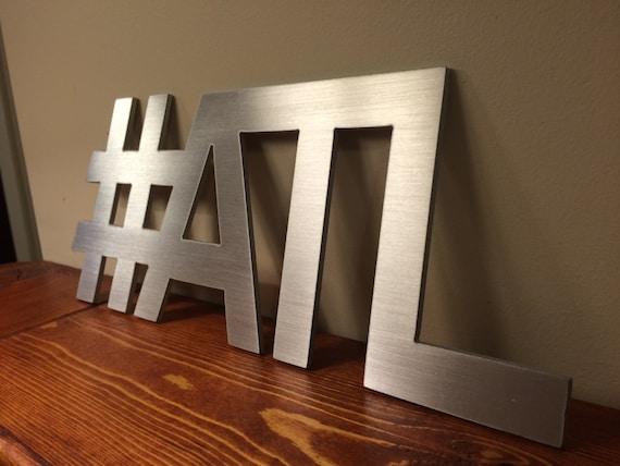 Hashtag atl atlanta wall decor art for Decor hashtags