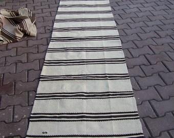 Striped Kilim Rug Etsy