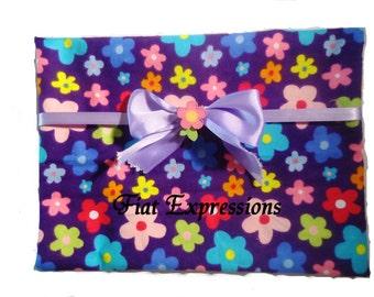 Purple Flower Blanket