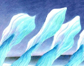 """Last of the Icebergs. Disappearing Arctic """"Sculptured by Wind"""""""