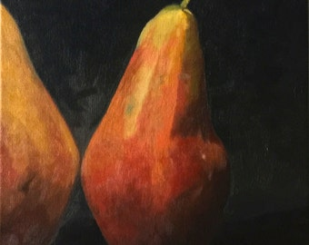 Pears oil painting - Still Life - Realism