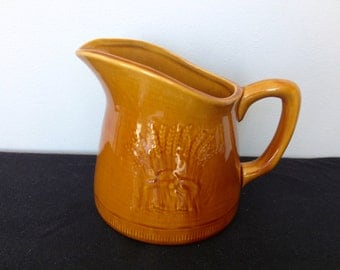 Franciscan Wheat Golden Brown 20 oz Pitcher