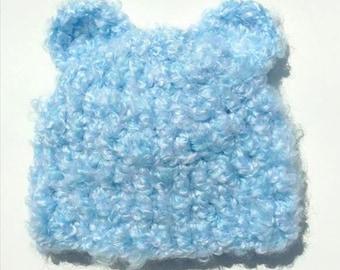 Baby Boy Bear Hat, Newborn Boy Hat, Teddy Bear Hat, Crochet Baby Boy Hat, Baby Bear Hat, Bear Hat, Crochet Baby Hat, Baby Boy Hat, Halloween