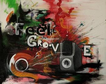 Feel The Groove Print