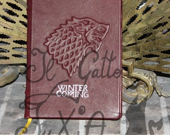 Winter is coming - Game of Thrones Rechargeable Agenda/Organizer