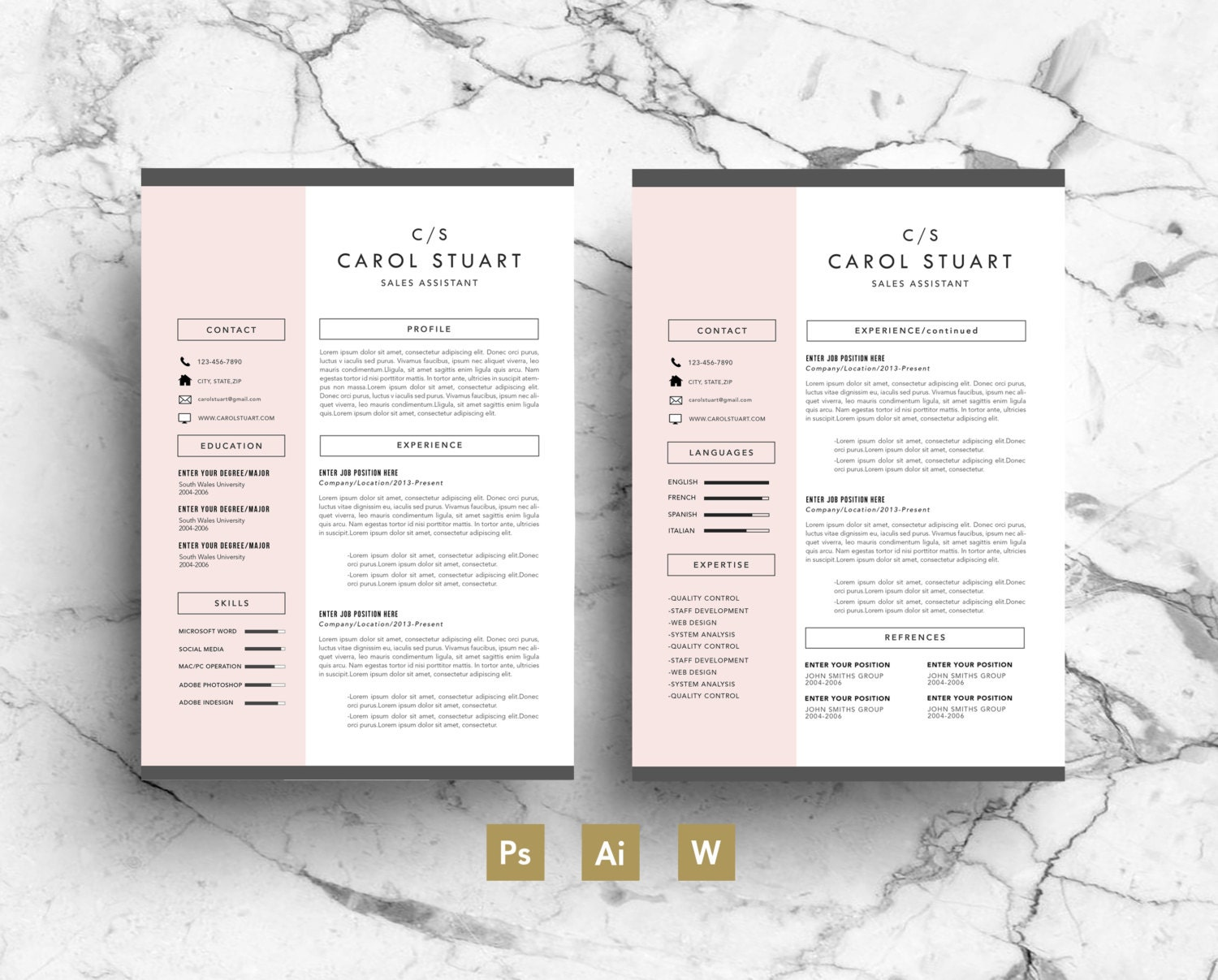 Cover Letter Two Pages