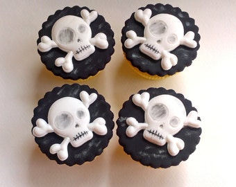 Edible Cake Decorations Skull : Edible skulls Etsy UK