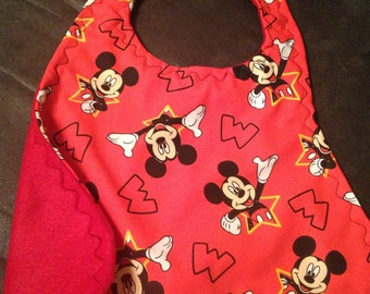 Mickey Mouse Red bib