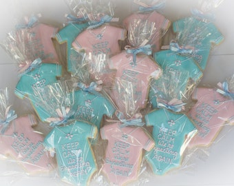 Birth Announcement Cookies