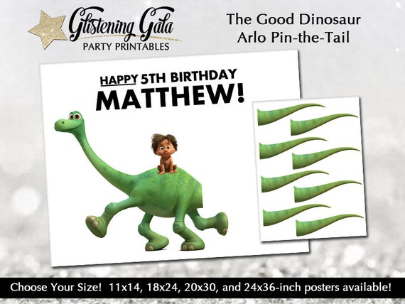 Pin-the-tail On The Good Dinosaur Arlo Digital By