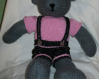 Teddy Bear - Hand Knit