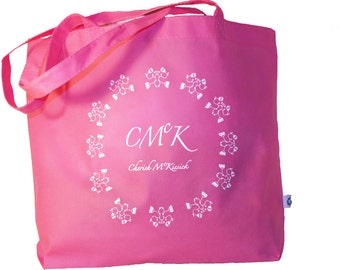 CMCK Pink shopping tote bag