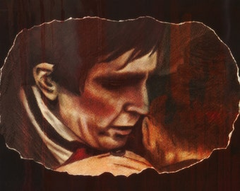 Barnabas Collins and Rachel Drummond- print
