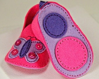 Handmade Baby Shoes, Felt Baby Shoes,Felt Baby Booties,Baby Slippers,Handmade Booties,Infant Shoes,Baby Shoes,Baby Booties,Handmade Booties