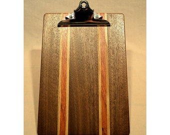 Walnut clipboard