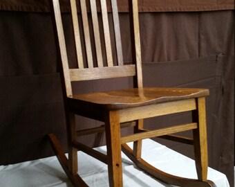 Vintage Nursery rocking chair