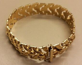 14K Yellow Gold Italian Milor Bracelet