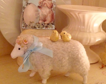 Vintage Easter Lamb