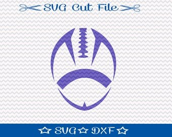 Football SVG File / SVG Cut File for Silhouette / Sports SVG / Superbowl svg