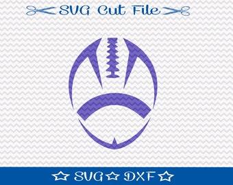 Football SVG File / SVG Cut File for Silhouette / Sports SVG / Superbowl svg
