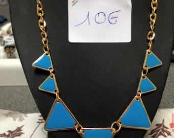 collar blue triangle