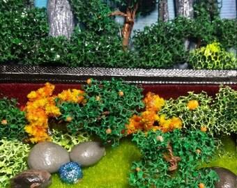 Garden of Eden hidden in a box