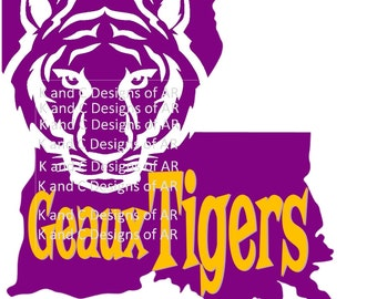 Geaux Tigers, Go Tigers file, LSU, Lousiana SVG, PNG, jpg