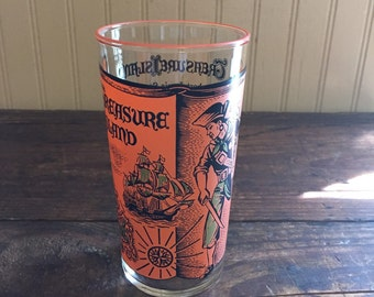 Vintage Treasure Island Libbey Storybook Glass