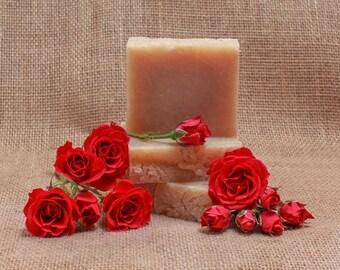 Sweet Roses Goat Milk Soap