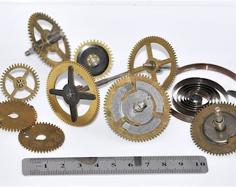 Large Clock Gears, Cogs, UPcycle, Steampunk
