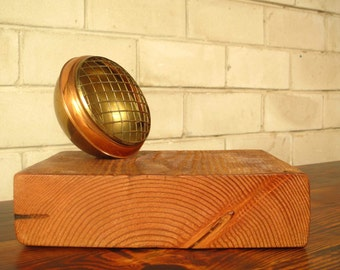 Copper light mount